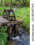 Old Watermill In The Woods