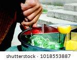ottoman sweet paste osmanl...   Shutterstock . vector #1018553887