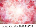 happy valentine's day backgorund | Shutterstock . vector #1018563391