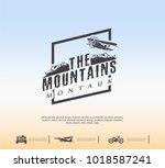 travel logo  tourism concept ...   Shutterstock .eps vector #1018587241