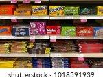 spencer  wisconsin february 6 ... | Shutterstock . vector #1018591939