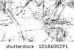 black and white halftone dots... | Shutterstock .eps vector #1018600291