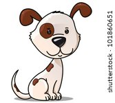 Vector Toy Puppy Isolated On White Stock Vector Royalty Free