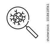 cancer icon  vector illustration | Shutterstock .eps vector #1018618561
