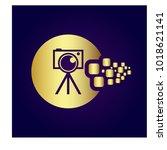 photography icon vector logo...   Shutterstock .eps vector #1018621141
