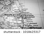 neacastle upon tyne in the... | Shutterstock . vector #1018625317
