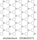 seamless vector pattern in... | Shutterstock .eps vector #1018633171