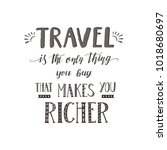 vector hand lettering quote of... | Shutterstock .eps vector #1018680697