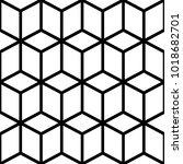 hipster geometric pattern ... | Shutterstock .eps vector #1018682701