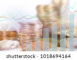 financial concept image | Shutterstock . vector #1018694164