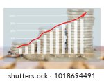financial concept image | Shutterstock . vector #1018694491