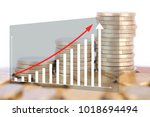 financial concept image | Shutterstock . vector #1018694494