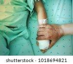 children are sick  make parents ... | Shutterstock . vector #1018694821