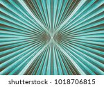 striped of tropical palm leaf... | Shutterstock . vector #1018706815