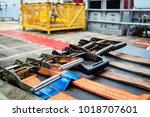 heavy duty industrial fabric...   Shutterstock . vector #1018707601
