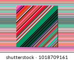 mexican blanket stripes... | Shutterstock .eps vector #1018709161