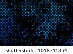 dark blue vector  template with ... | Shutterstock .eps vector #1018711354