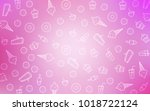 light pink vector layout with... | Shutterstock .eps vector #1018722124