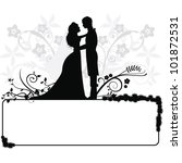 Wedding Couple  Silhouettes...