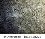 grunge dark grey concrete...   Shutterstock . vector #1018728229
