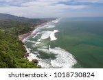 parangtritis beach at java... | Shutterstock . vector #1018730824