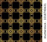 vintage ornamental seamless... | Shutterstock .eps vector #1018740631