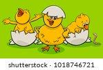 cartoon illustration of little...   Shutterstock .eps vector #1018746721