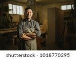 portrait of a professional... | Shutterstock . vector #1018770295