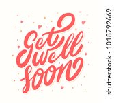 get well soon.   Shutterstock .eps vector #1018792669