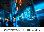 stock market background design | Shutterstock . vector #1018796317