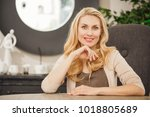horizontal shot of a mature... | Shutterstock . vector #1018805689