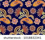 seamless contrast pattern with... | Shutterstock .eps vector #1018832341