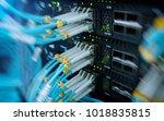fiber optical connector... | Shutterstock . vector #1018835815