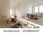 apartment repair wall repair... | Shutterstock . vector #1018844347