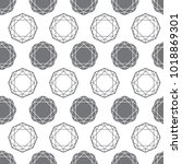 vector seamless pattern from... | Shutterstock .eps vector #1018869301