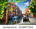 morning in venice | Shutterstock . vector #1018877965