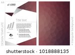 light pink vector  brochure for ...