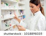 medicine  pharmaceutics  health ...   Shutterstock . vector #1018898335
