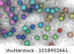 light colored vector texture... | Shutterstock .eps vector #1018902661