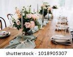 Wooden Wedding Table Decoratio...