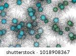 light colored vector pattern... | Shutterstock .eps vector #1018908367