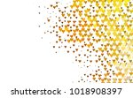 light yellow  orange vector... | Shutterstock .eps vector #1018908397