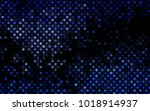 dark blue vector  template with ... | Shutterstock .eps vector #1018914937