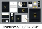 corporate identity branding... | Shutterstock .eps vector #1018919689