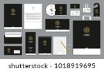 corporate identity branding... | Shutterstock .eps vector #1018919695
