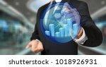 business analyst activating an... | Shutterstock . vector #1018926931