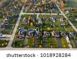 aerial view of waterloo region  ... | Shutterstock . vector #1018928284