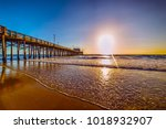 Wooden Pier In Newport Beach ...