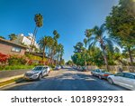 los angeles  ca  usa   november ... | Shutterstock . vector #1018932931