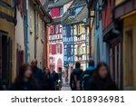 colmar  france   january 05 ... | Shutterstock . vector #1018936981